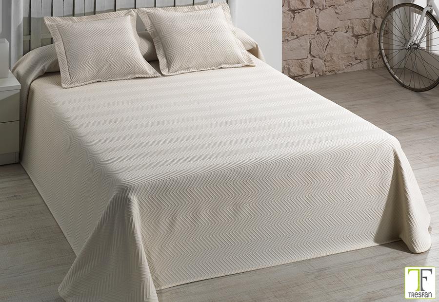 Cama 90 cm, Color Unico Textilonline Colcha Bouti Sidney